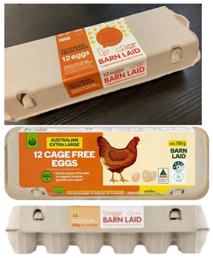 Bridgewater Poultry eggs are being recalled from a number of Coles, Woolworths and independent supermarkets across the country due to fears of salmonella contamination. Source: Food Safety Standards Australia New Zealand