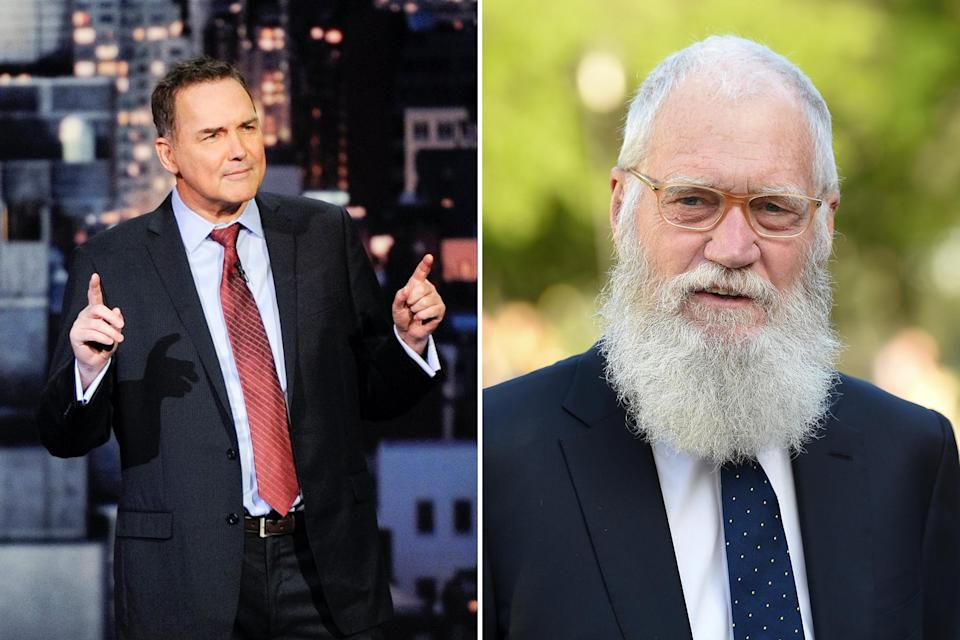 norm-and-letterman - Credit: Jeffrey R. Staab/CBS/Getty Images; Evan Agostini/Invision/AP