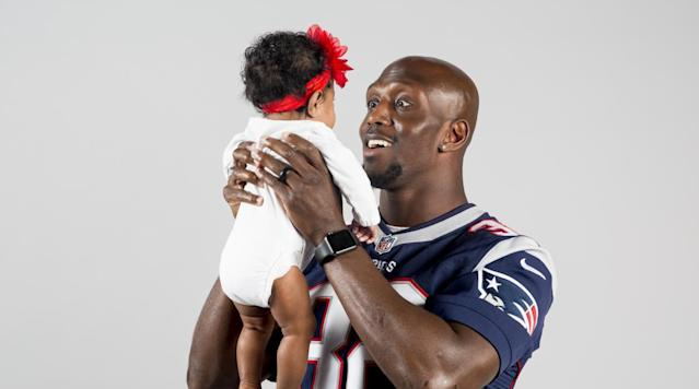 <p>London McCourty - 10 weeks</p>