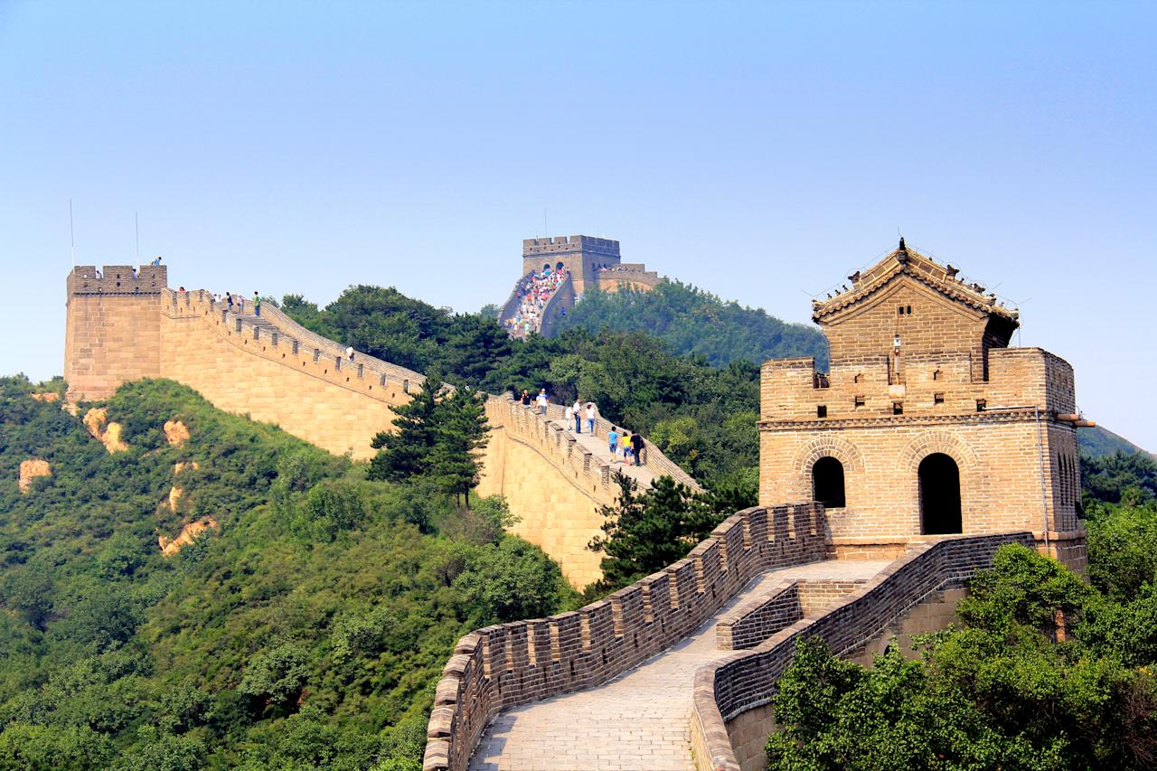 <p>The Great Wall of China is probably one of the first sets of stairs that spring to mind when thinking of the most Instagrammable. The wall is over 3,000 miles long and would take an estimated 18 months to complete – that's a lot of time to curate some impressive social media content… <em>[Photo: Getty]</em> </p>