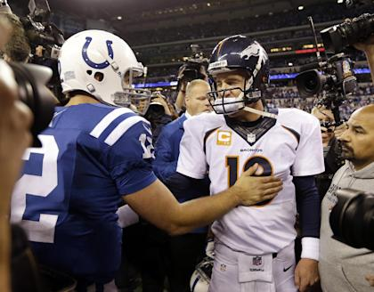 The Colts have transitioned nicely from Peyton Manning to Andrew Luck. Still, ownership isn't happy. (AP)