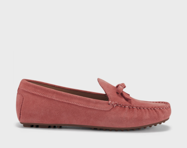 Bowery Suede Driving Moccasin. Image via Aerosoles.