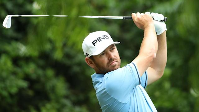 A flawless round on Saturday moved Louis Oosthuizen into pole position to win the South African open.