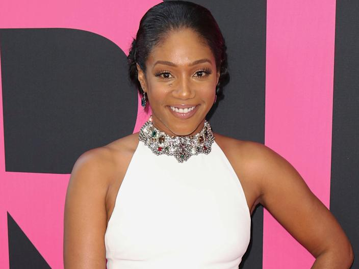 "Tiffany Haddish at the world premiere for ""Girls Trip."" <p class=""copyright"">Willy Sanjuan/Invision/AP</p>"
