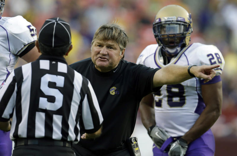James Madison fires football coach Mickey Matthews