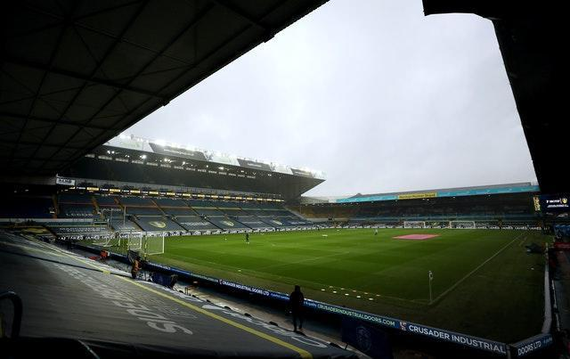 Sports venues in West Yorkshire such as Leeds' Elland Road stadium will remain closed to spectators