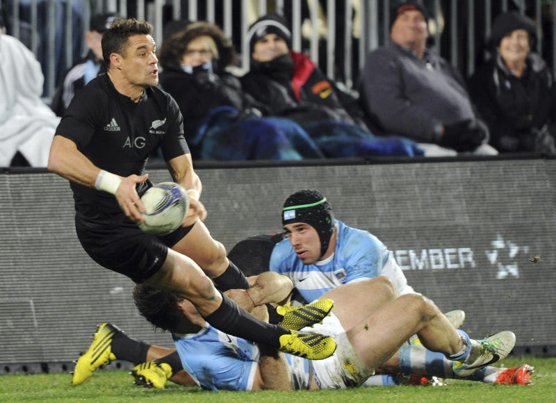 New Zealand Rugby Carter Comeback