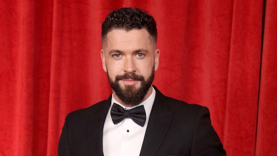 Shayne Ward attends the British Soap Awards at The Lowry Theatre on June 01, 2019 in Manchester, England. (Photo by Mike Marsland/WireImage)