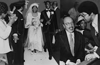 <p>Aretha Franklin married Ted White when she was only 19, but divorced him eight years later. The Queen of Soul found herself walking down the aisle once more in 1978, this time to actor Glynn Turman. Franklin and Turman were married for six years before divorcing in 1984. </p>