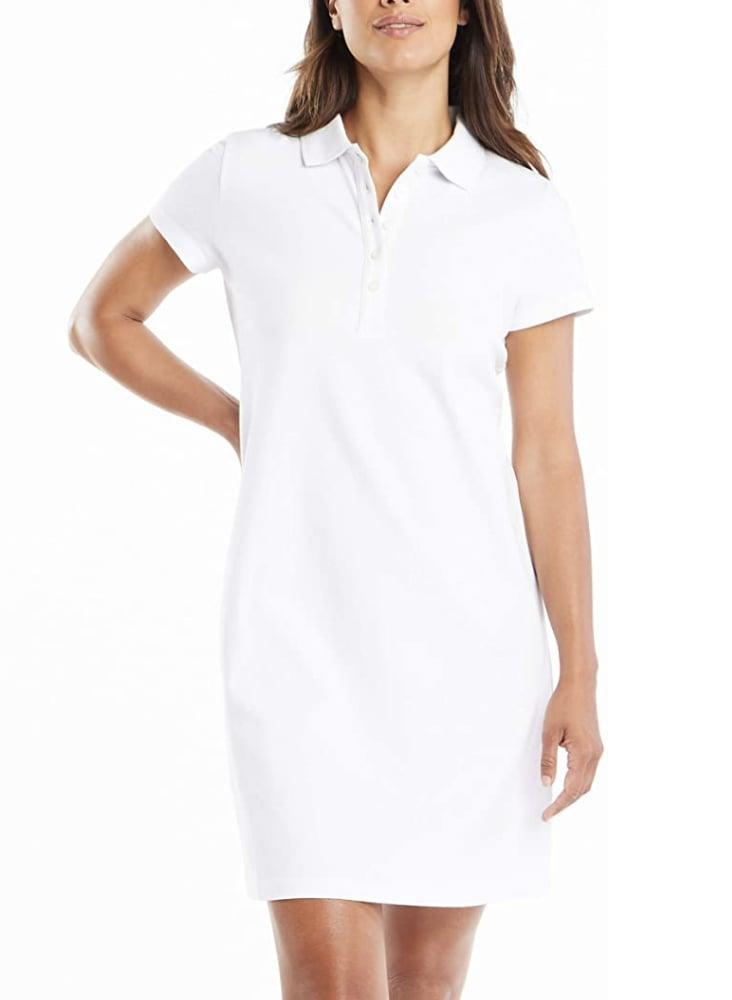 <p>This <span>Nautica Cotton Polo Dress</span> ($29-$67) makes for a sporty chic look, and we're sold.</p>