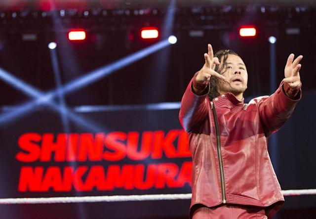 Shinsuke Nakamura. (Photo courtesy of WWE)