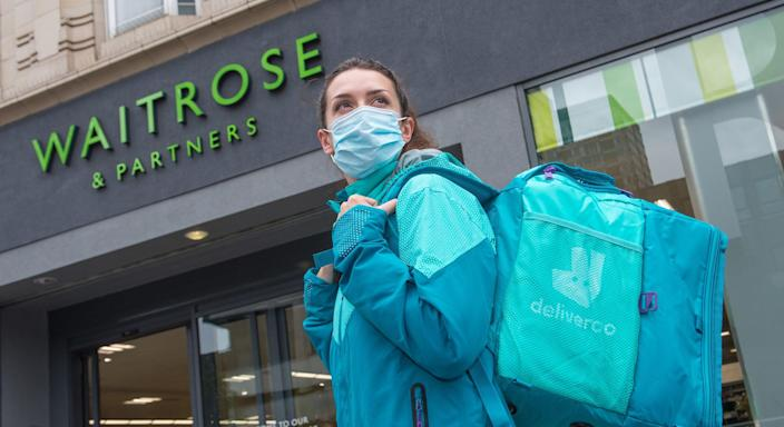 Waitrose is expanding its delivery service with Deliveroo (Fiona Hanson)