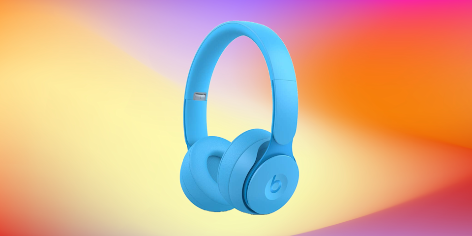 Save $70 on these Beats Solo Pro Wireless Noise Cancelling On-Ear Headphones. (Photo: Amazon)