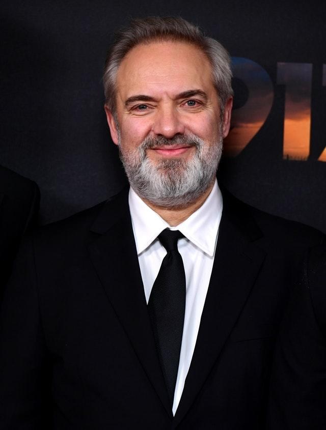 Director Sam Mendes at the 1917 world premiere