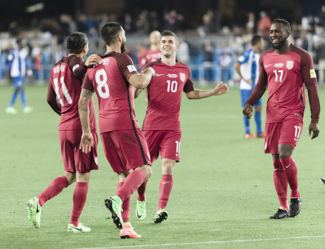 The U.S. could officially qualify with two wins and a lot of help elsewhere. (Photo by David Madison/Getty Images)