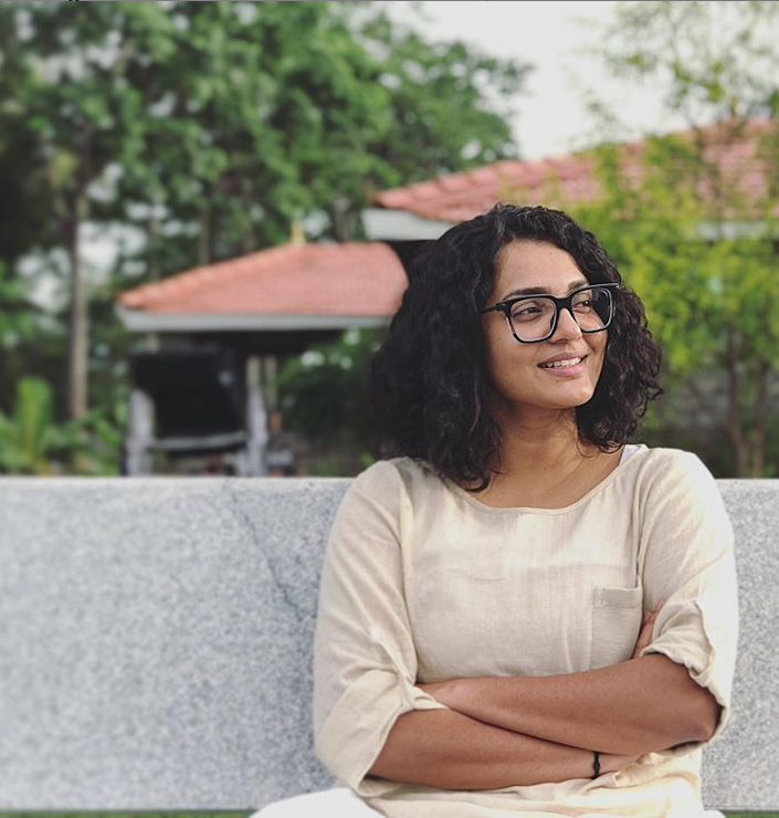 Although she comes from no film background, Parvathy Thiruvoth is among the most bankable actresses in Malayalam cinema today. (Image from Instagram)