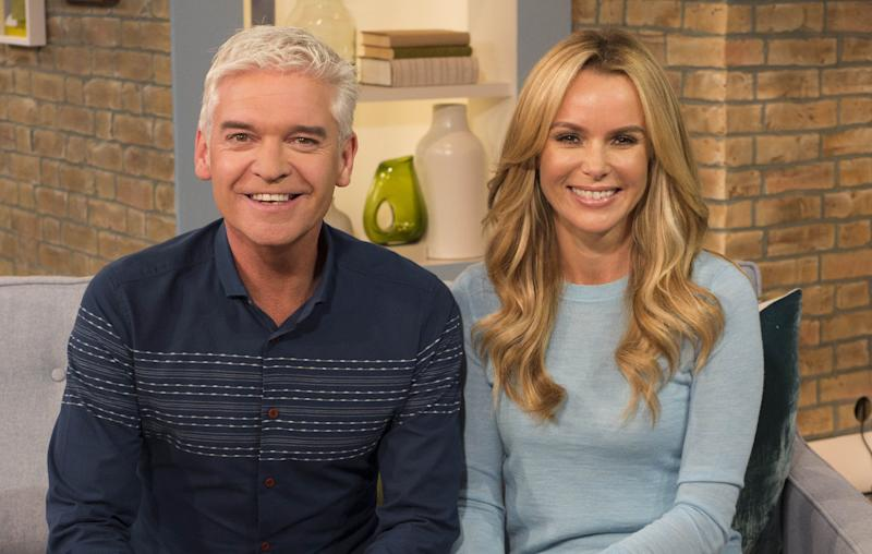 Phillip and Amanda Holden have been the subject of feud reports (Photo: Rex/Shutterstock/ITV)