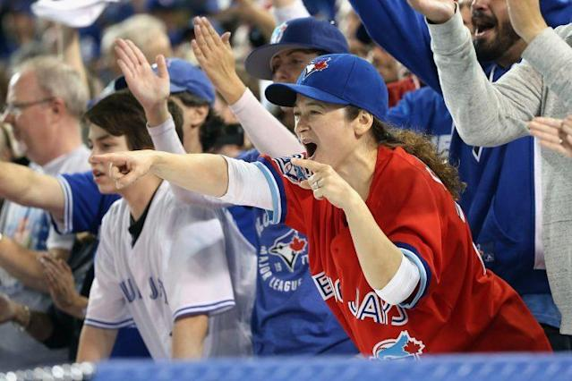 The Blue Jays attracted more fans to the ballpark than any other team in the AL. (Getty Images)