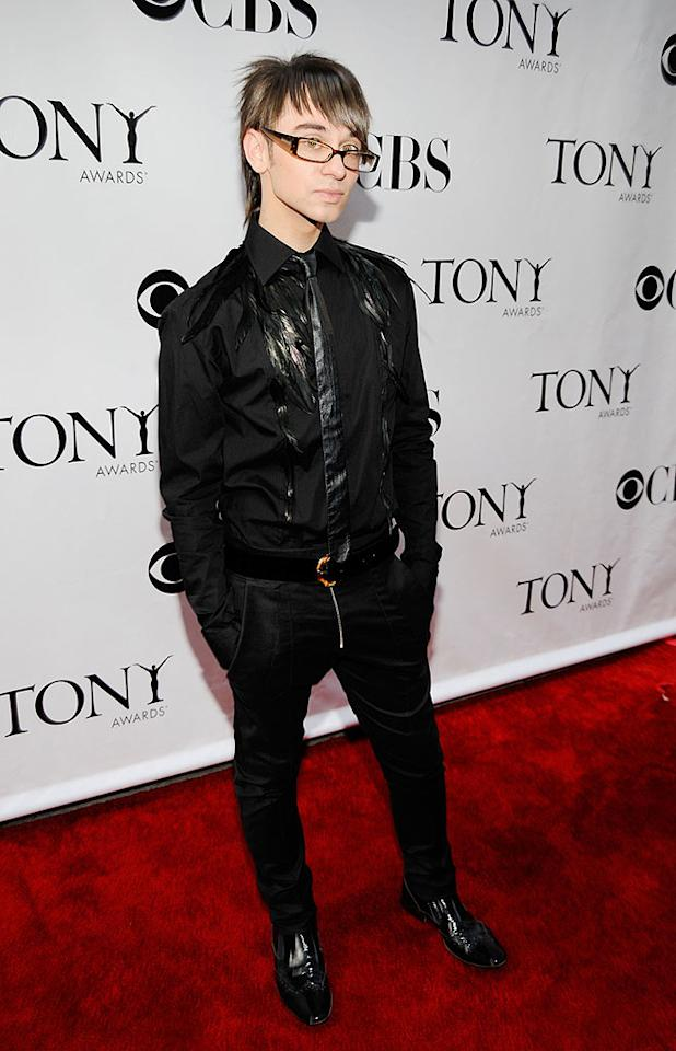 """""""Project Runway"""" winner Christian Siriano has made a name for himself with his innovative design, indescribable hairstyle, and overuse of the word """"fierce!"""" Kevin Mazur/<a href=""""http://www.wireimage.com"""" target=""""new"""">WireImage.com</a> - June 15, 2008"""
