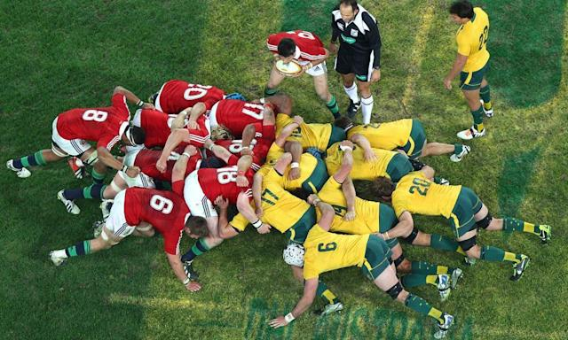 """<span class=""""element-image__caption"""">The British & Irish Lions played 10 matches in Australia in 2013 but the number of games they play on a tour will be reduced to eight from 2021.</span> <span class=""""element-image__credit"""">Photograph: Marianna Massey/Getty Images</span>"""