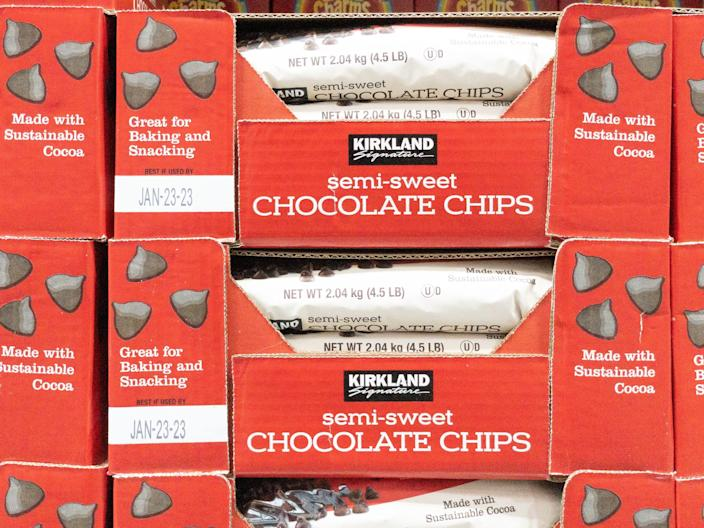 13. chocolate chips