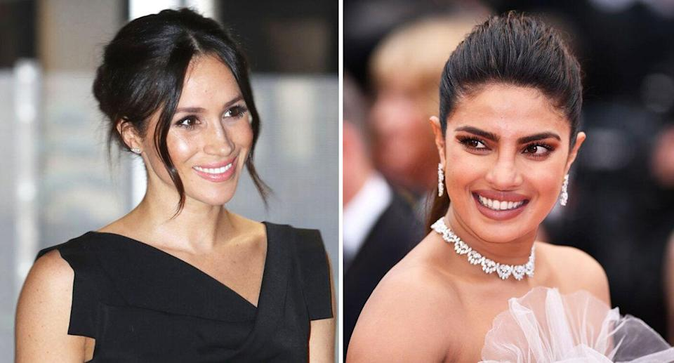 Priyanka Chopra has said the criticism the Duchess of Sussex has faced stems from racism [Photo: Getty]