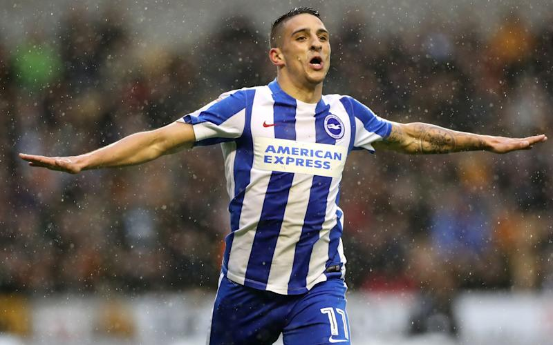Anthony Knockaert has been a match-winner for Brighton all season - PA