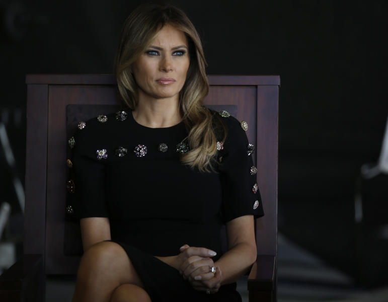 Melania Trump skipping G7, North Korea summits