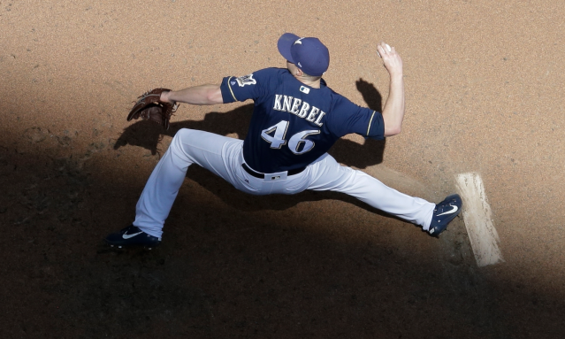That's Knebel with a K (AP)