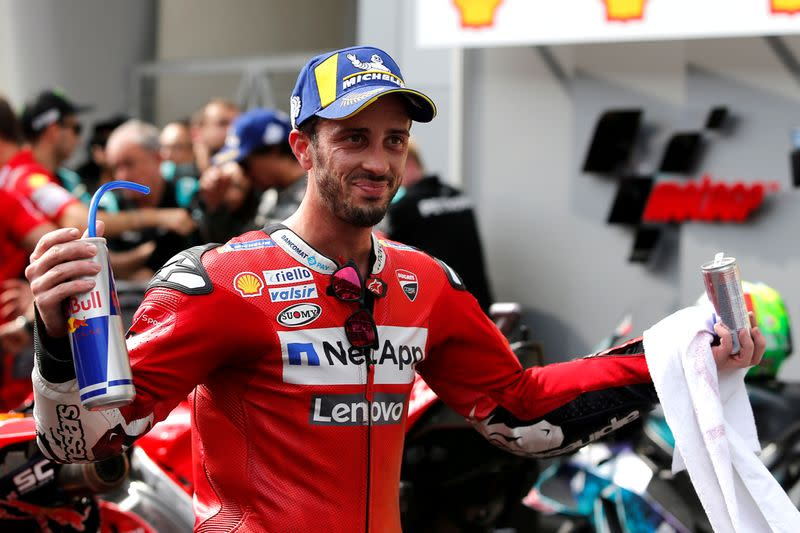 Motorcycling: Dovizioso to be fit for season after collarbone surgery