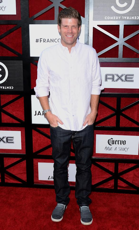 """Stephen Rannazzisi attends """"The Comedy Central Roast of James Franco"""" at Culver Studios on August 25, 2013 in Culver City, California."""