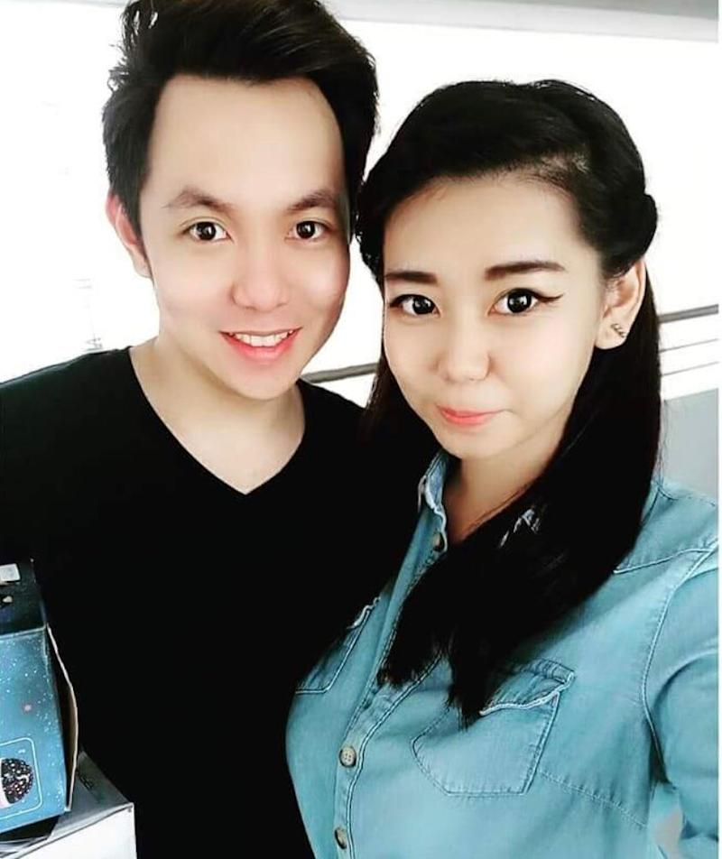 Daniel Lee of Ladyboy Auction with his girlfriend. (Photo: Daniel Lee)