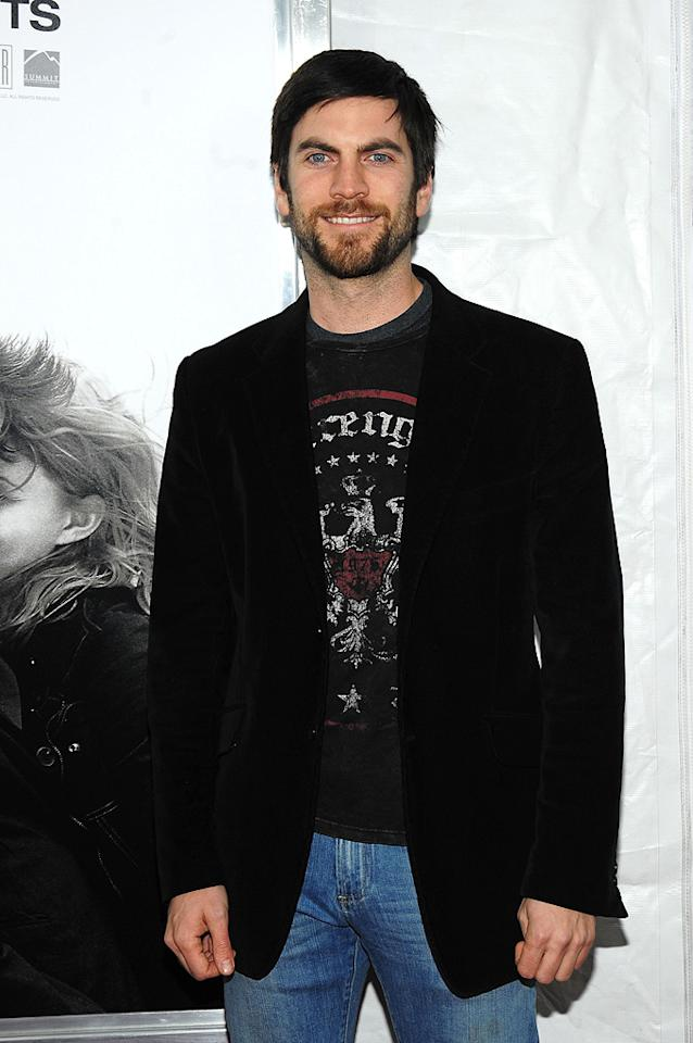 """<a href=""""http://movies.yahoo.com/movie/contributor/1800018630"""">Wes Bentley</a> at the New York City premiere of <a href=""""http://movies.yahoo.com/movie/1810076910/info"""">Remember Me</a> - 03/01/2010"""
