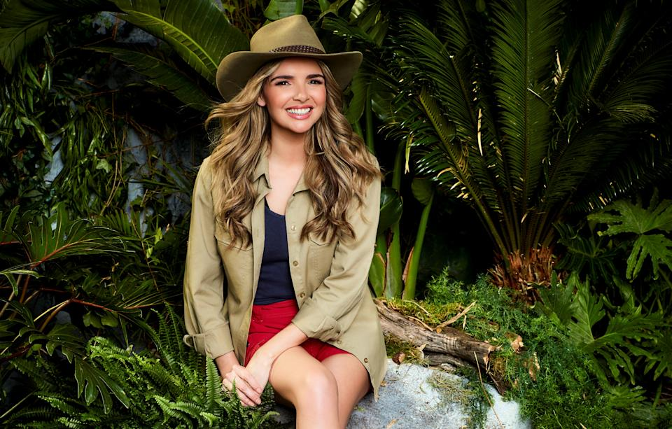 Nadine Coyle is heading into the jungle (Credit: ITV)