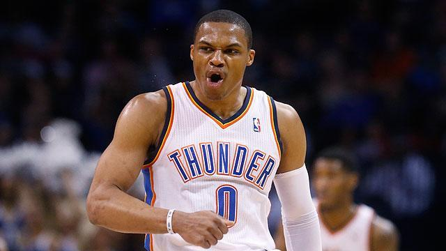 Russell Westbrook logs second-fastest triple-double in NBA history
