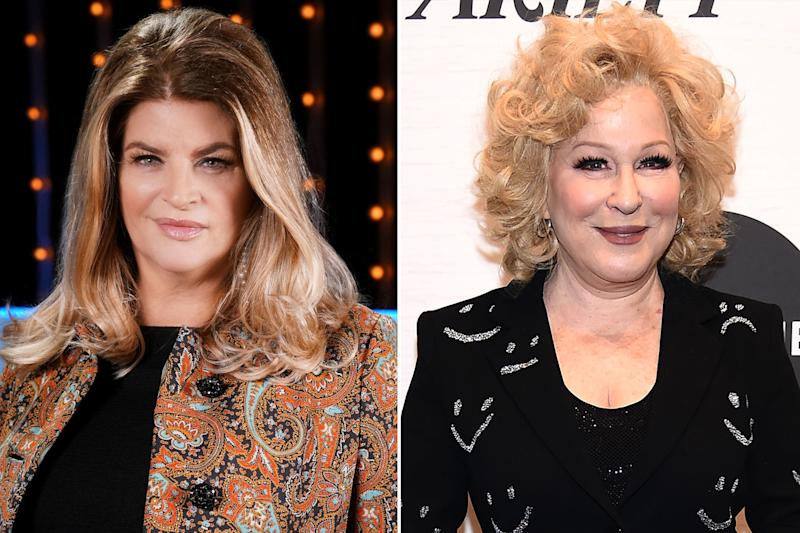 Kirstie Alley Blasts Bette Midler Over Joke About Black Conservatives: 'We Get It, You Hate Trump'