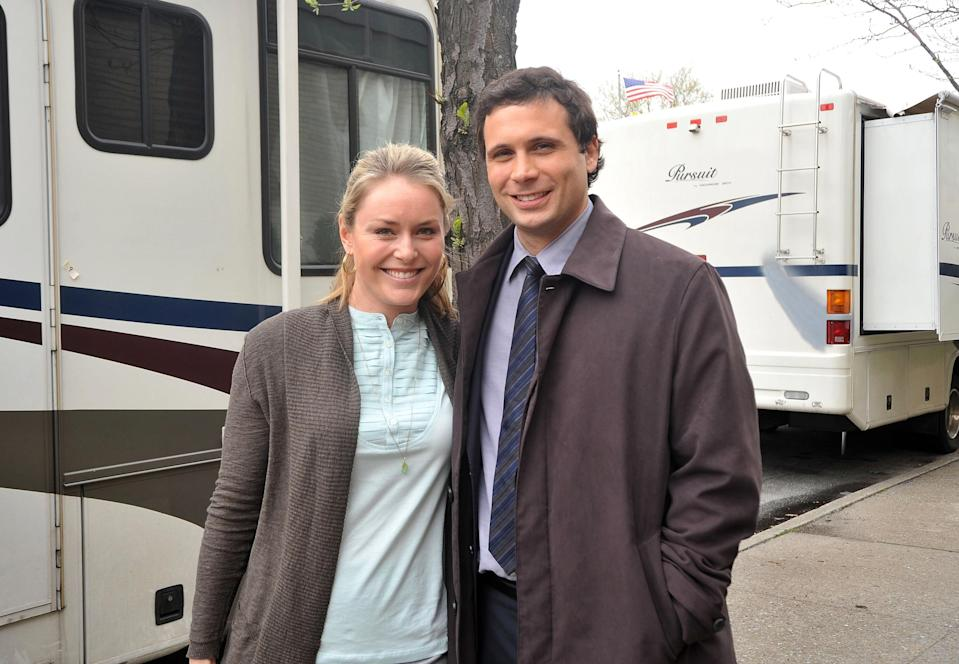 <p>Vonn guest-starred in Law and Order. She played a teaching assistant on the series finale. </p>