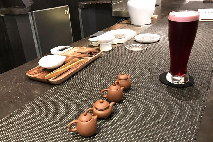 Old and new: Enjoy both traditional brewed Chinese teas as well as refreshing Nitro Teas at Tea+ – Pictures by Kenny Mah