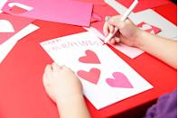 "<p>Card-making is a great way to get crafty and creative. Pull out your art supplies and put together the most festive combinations of pink and red — or anything else! This is a fun activity for kids and adults, and no matter what your relationship status, there's always someone in your life who would appreciate a <a href=""https://www.goodhousekeeping.com/holidays/valentines-day-ideas/g1332/diy-valentines-day-cards/"" rel=""nofollow noopener"" target=""_blank"" data-ylk=""slk:DIY Valentine's Day card"" class=""link rapid-noclick-resp"">DIY Valentine's Day card</a>. </p>"