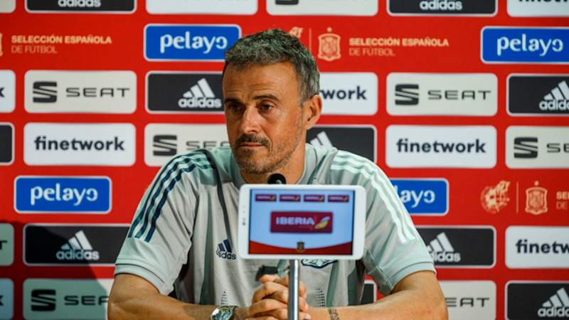 "Luis Enrique: ""No es normal el desparpajo de Ansu Fati"""