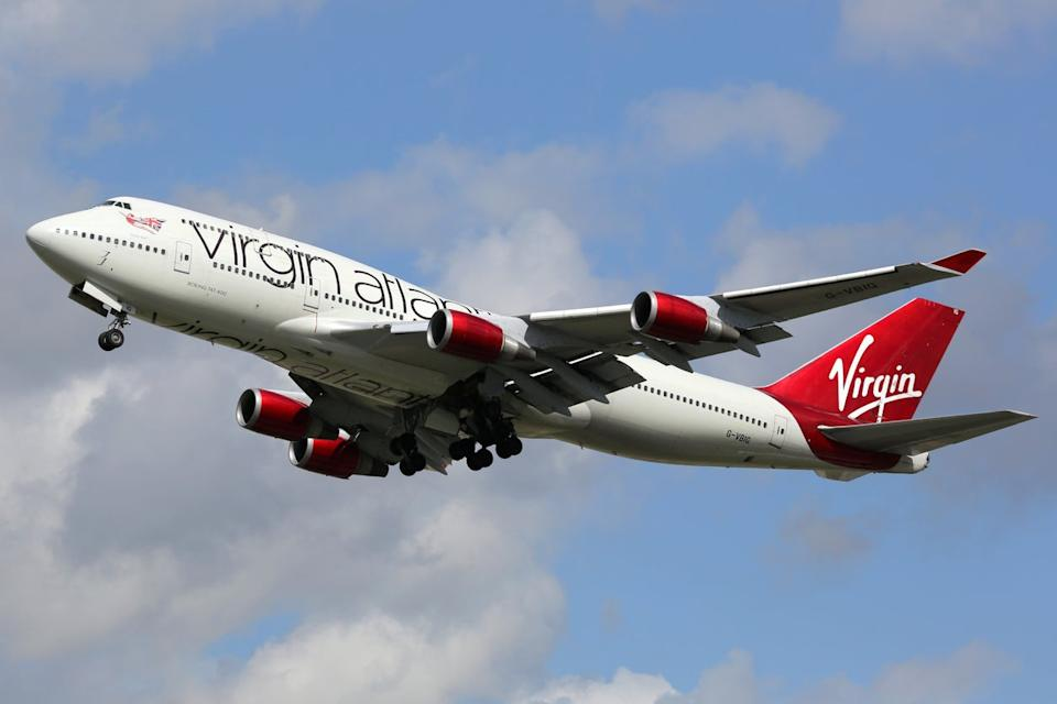 <p>Virgin Atlantic came joint bottom place</p> (Getty Images)