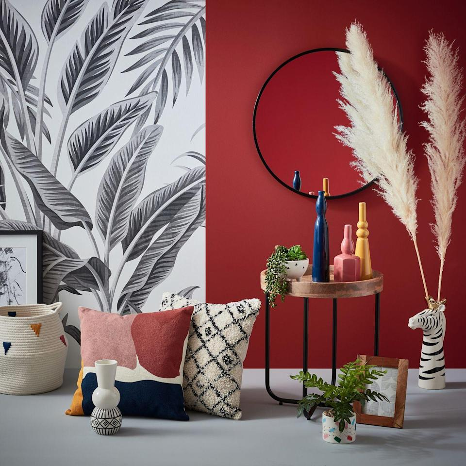 <p>Discover the power of stripped-back chic with the Pioneer trend. 'Beautifully bohemian, create a lived-in look with perfectly placed patterns, colours and textures,' explains Homebase. </p>