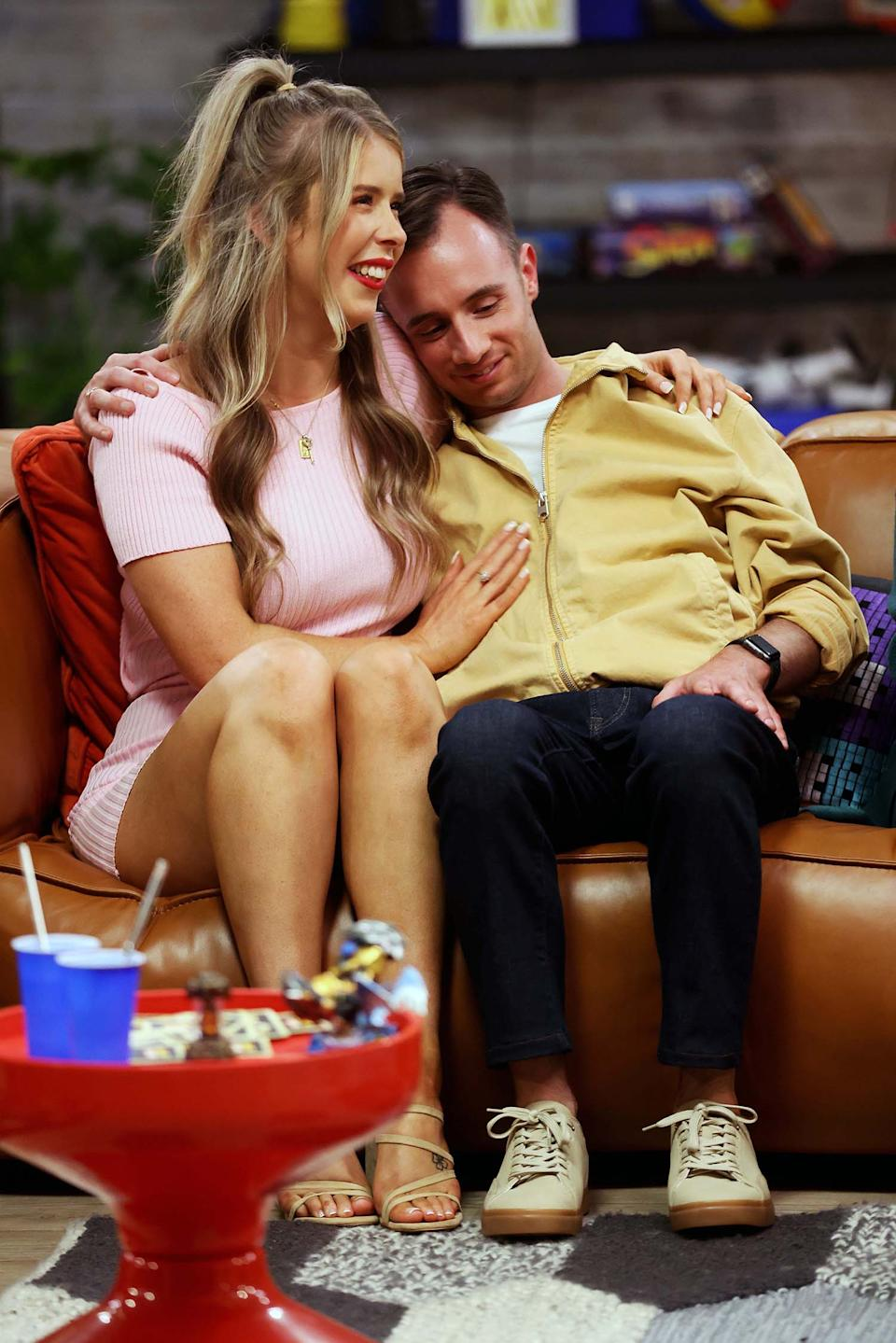 Lachlan and Kiera formed a beautiful friendship during their time on the show. Photo: Nine