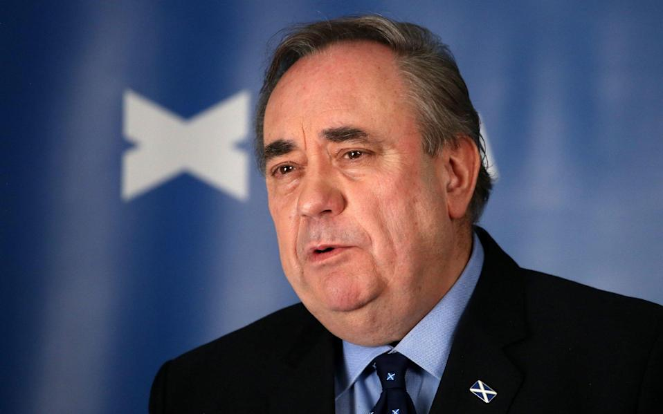 The Alba leader wants his new party to establish a Holyrood 'supermajority' for independence after May's election - Andrew Milligan/PA Wire
