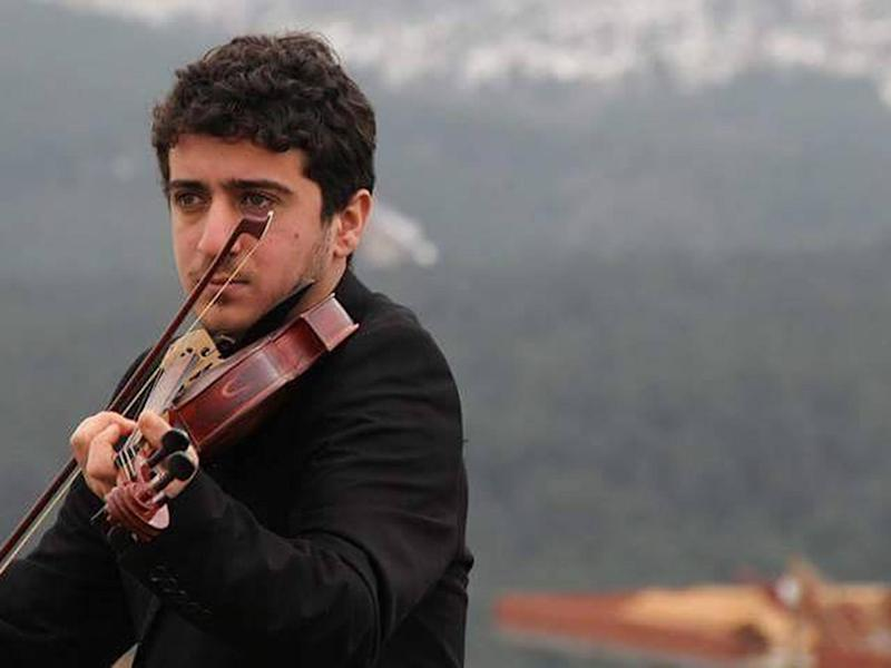 Baris was troubled in his teenage years before finding a sense of purpose in his passion for the violin