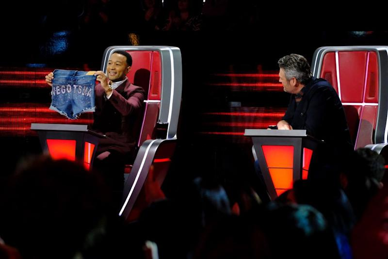 John Legend and Blake Shelton | Trae Patton/NBC