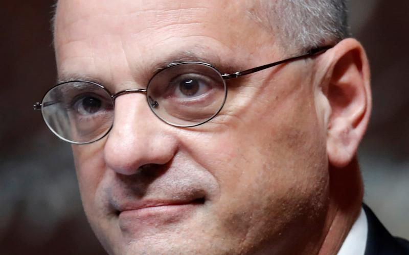 French education minister Jean-Michel Blanquer - CHARLES PLATIAU/REUTERS