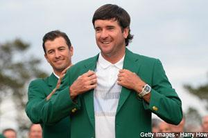 Bubba Watson emerged with a three-stroke victory at the 78th Masters on Sunday. It's his second green jacket in three years