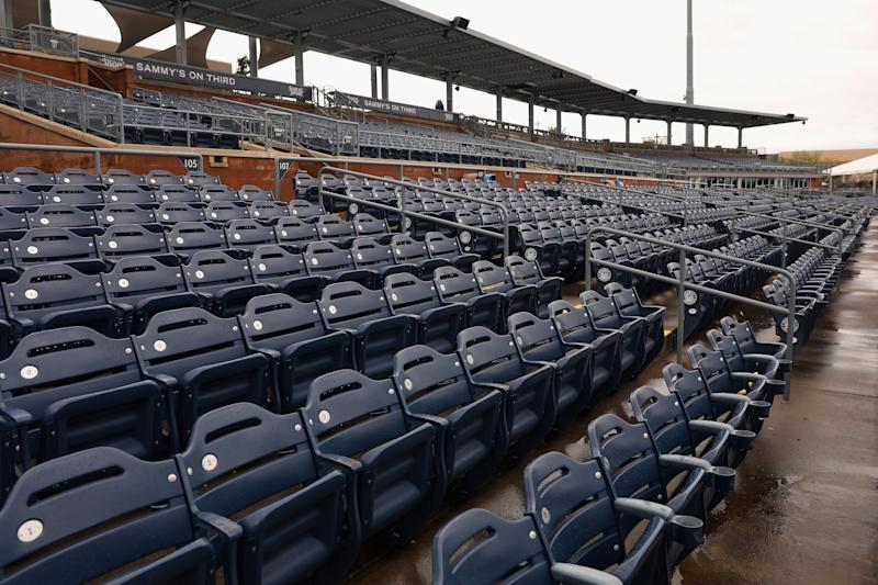 All 30 Major League Baseball teams have committed to donating $1M to ballpark employees who will not be paid during coronavirus shutdown. (Photo by Christian Petersen/Getty Images)