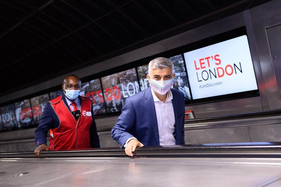 Sadiq Khan launched the Let's Do London campaign earlier this year  (PA)